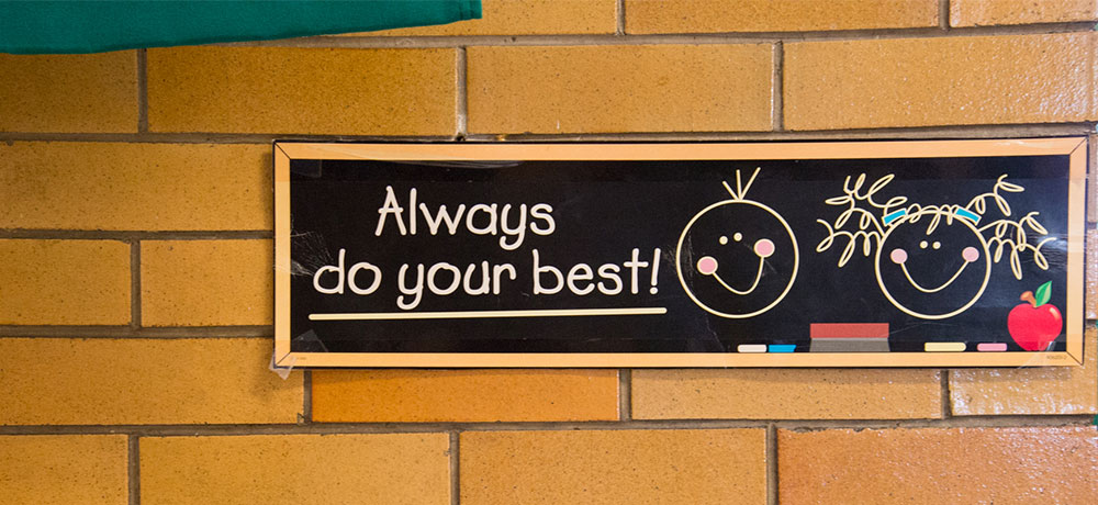 Always do your best